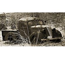Vintage Work Truck - 1963 Photographic Print
