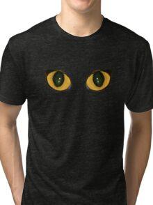 Cat eyes Tri-blend T-Shirt