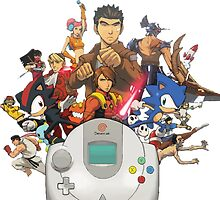 Dreamcast Heroes by Cyberbob
