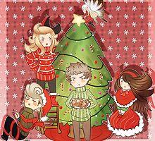 Bravely Christmas by lythweird
