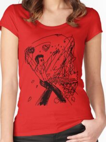 'Robert Hock: The Perfect Shot' Women's Fitted Scoop T-Shirt