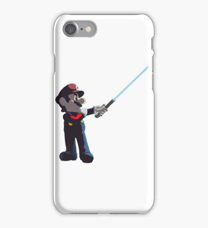 Jedi Mario T-Shirt iPhone Case/Skin