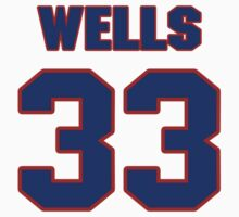 National baseball player Casper Wells jersey 33 by imsport