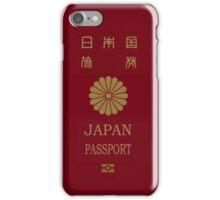 Japanese Passport iPhone Case/Skin