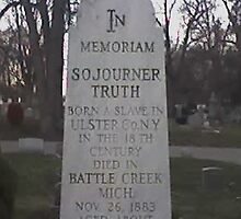 Sojourner truth's marker by PhyreEyes