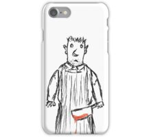 The Placid British Butcher... iPhone Case/Skin