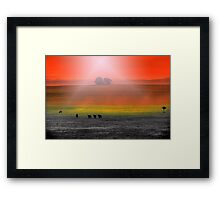 Paradise Pasture 2 Framed Print