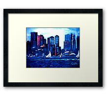 ESPLANADE, BOSTON Framed Print