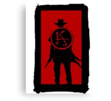 Ka is a wheel Canvas Print