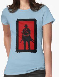 Ka is a wheel Womens Fitted T-Shirt