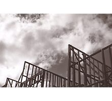 Construction Site Photographic Print