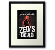 Zed's Dead - Pulp Fiction Framed Print