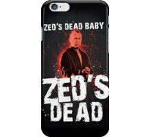 Zed's Dead - Pulp Fiction iPhone Case/Skin