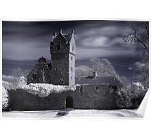 Castle Infrared Poster