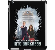 The Doctor and Clara: Into Darkness iPad Case/Skin