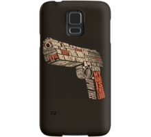 Pulp Fiction - Gun art Samsung Galaxy Case/Skin