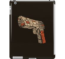 Pulp Fiction - Gun art iPad Case/Skin