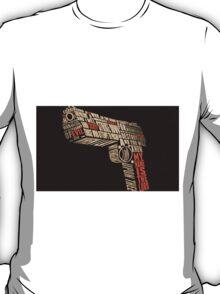 Pulp Fiction - Gun art T-Shirt