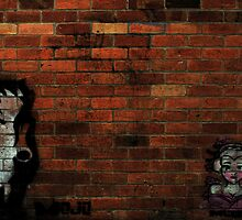 Faces on a Wall by Luke Haggis