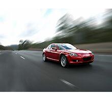 Mazda RX8 Photographic Print