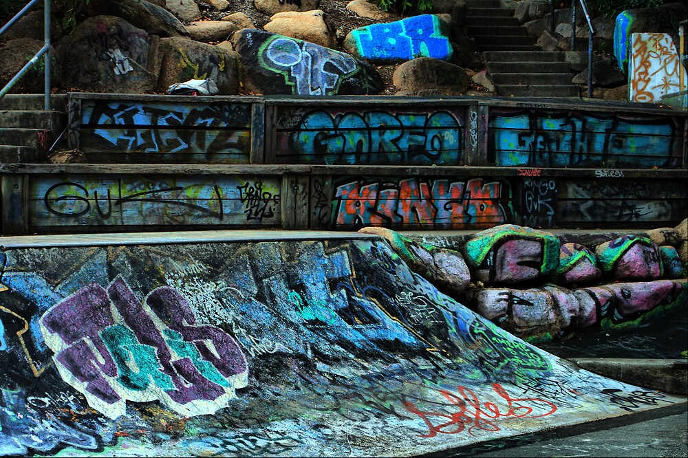Skate Park by Luke Haggis