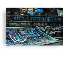 Skate Park Canvas Print