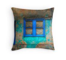 Derelict in Blue - Darlinghurst, Sydney, Australia Throw Pillow