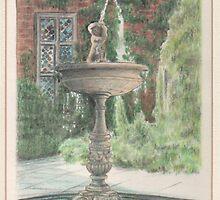 Fountain, Dunham Massey, Cheshire. by PaulReddyoff