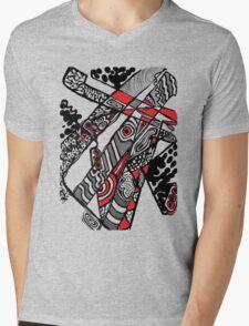 alexjackpicketty Mens V-Neck T-Shirt