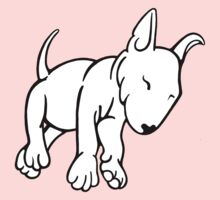 Tired English Bull Terrier Puppy Kids Clothes