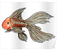 Just a Goldfish Poster