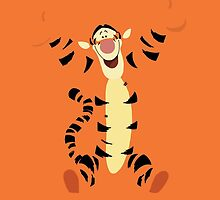 Disney Tigger iPhone Case by simplepete