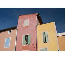Colours of Roussillon Photographic Print