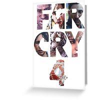 FAR CRY 4 Greeting Card