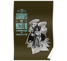 Cowboys vs. Mexicans Poster