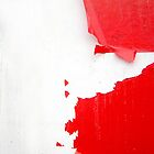 red abstract by PixelProtest