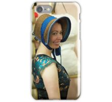 Dickens Fair Corset and Cap iPhone Case/Skin