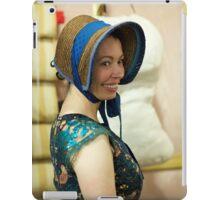 Dickens Fair Corset and Cap iPad Case/Skin