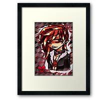 Anime sketch Framed Print