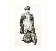 The Embroiderer Art Print
