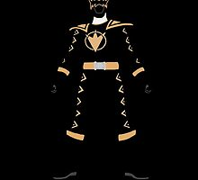Power Rangers Dino Thunder Black Ranger iPhone Case by simplepete