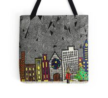 Christmas in the Big City with Yolanda Tote Bag