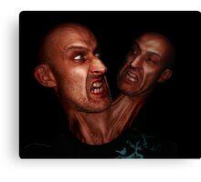 2 heads better than 1? Canvas Print