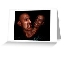 2 heads better than 1? Greeting Card