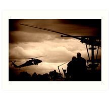 The Choppers Art Print