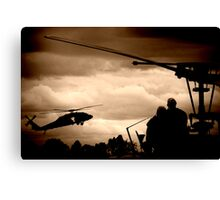 The Choppers Canvas Print