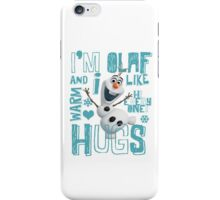 Hi everyone! I'm Olaf iPhone Case/Skin