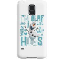 Hi everyone! I'm Olaf Samsung Galaxy Case/Skin