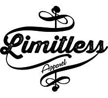 Limitless Apparel - Crossover black Photographic Print
