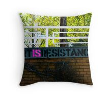 Art Is Resistance Throw Pillow